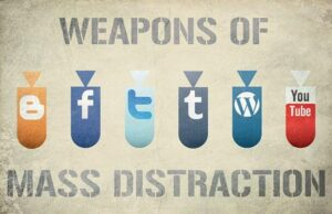copyright Birgerking: Weapons of Mass distraction Flickr Creative Commons